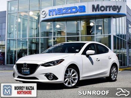 2016  Mazda3 GT  - Certified - Navigation