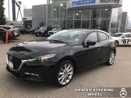 2017  Mazda3 GT  - Sunroof -  Heated Seats