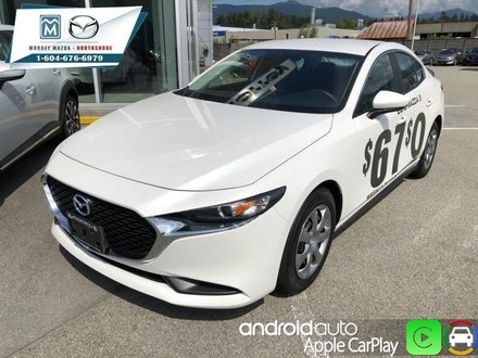 2019  Mazda3 GX Manual FWD  - Android Auto