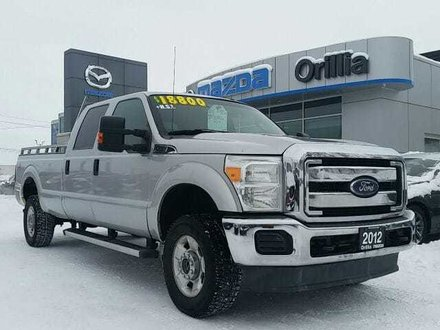 2012 Ford F-350 XLT-6.2L V8-4X4-8FT BOX-SUPERCREW