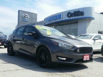 2015 Ford Focus SE-HEATED SEATS-BACKUP CAMERA-SIRIUS RADIO