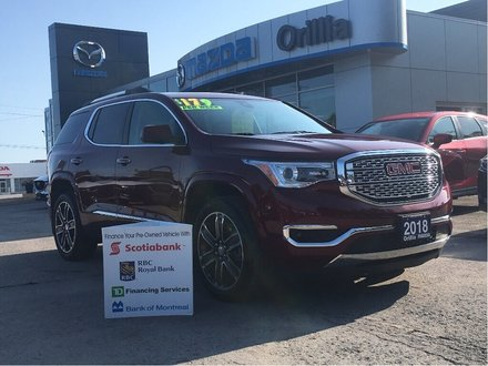 2018 GMC Acadia-DENALI-LOADED- Denali