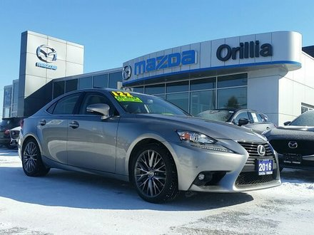 2016 Lexus IS 300 3.5l V6-AWD-LEATHER-ROOF-NAV