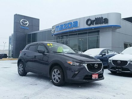 2016 Mazda CX-3 PRICED TO GO-GX-SKYACTIV-B/UP CAMERA-NO ACCIDENTS