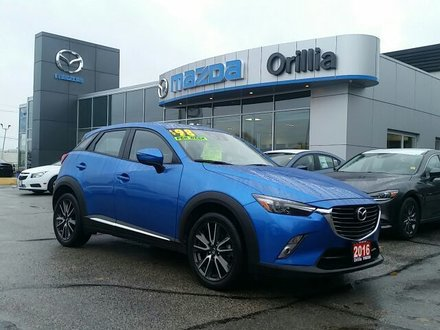 2016 Mazda CX-3 GT-SKYACTIV-AWD-NAV-SUNROOF-HEADS UP DISPLAY