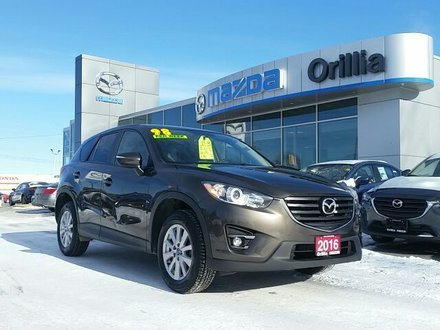 2016 Mazda CX-5 GS SKYACTIV-AWD-ROOF-HEATED SEATS