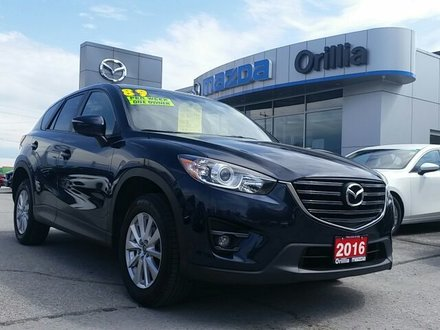 2016 Mazda CX-5 GS SKYACTIV-AWD-2.5L ENGINE-ROOF-HEATED SEATS