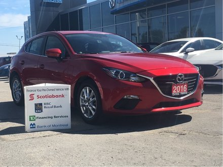 2016  Mazda 3 -MANUAL-HEATED SEATS- GS