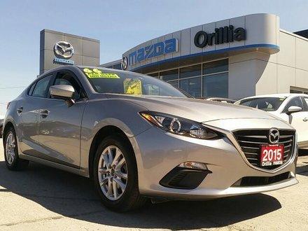 2015 Mazda Mazda3 GS SKYACTIV-2.0L-ONE OWNER-LOW KMS