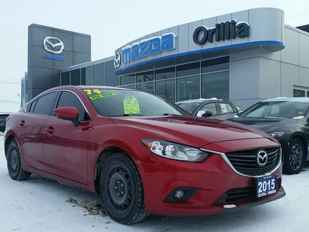 2015 Mazda Mazda6 GSL-SKYACTIV-LEATHER-ROOF-HEATED SEATS