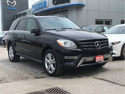 2015 Mercedes-Benz ML350 -BLUETEC DIESEL-HEATED SEATS-NAV-AWD ML 350 BlueTEC