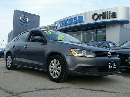 2014 VOLKSWAGO JETTA TRENDLINE+ HEATED SEATS/MIRRORS-CRUISE-