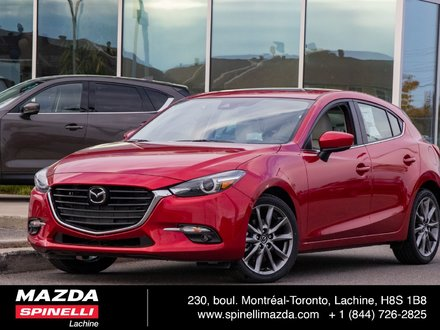 2018  Mazda3 Sport GT LEATHER