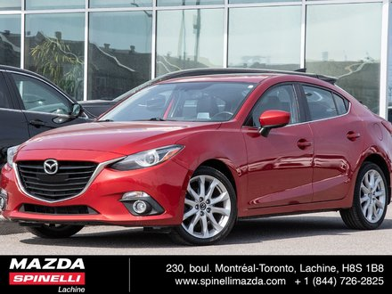 2014  Mazda3 GT-SKY BLUETOOTH GS