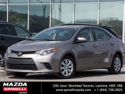 Toyota Corolla LE ECRAN BLUETOOTH CAMERA 2014