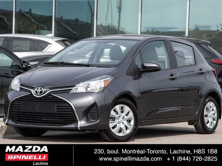 2016 Toyota Yaris Hatchback Le A/C BAS KILO BACK-UP CAMERA