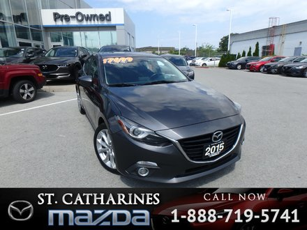 2015  Mazda3 Sport GT (Navigation,Camera,)