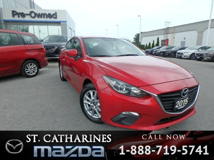 2015  Mazda3 GS(Bluetooth,Camera)