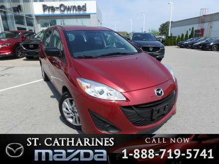 2015  Mazda5 GS (Bluetooth, AM/FM Radio)