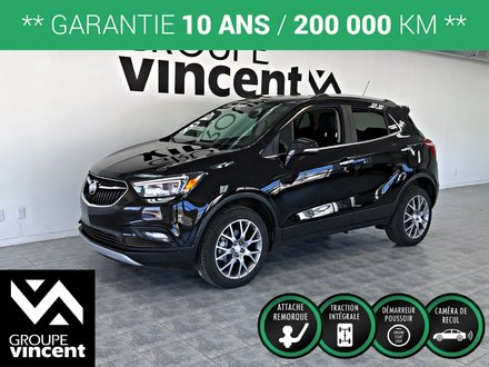 Buick Encore SPORT TOURING AWD **GARANTIE 10 ANS** 2017