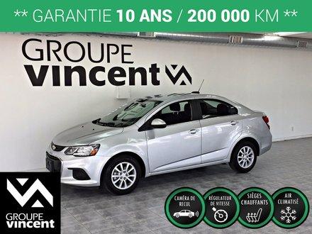 Chevrolet Sonic LT ** GARANTIE 10 ANS ** 2018