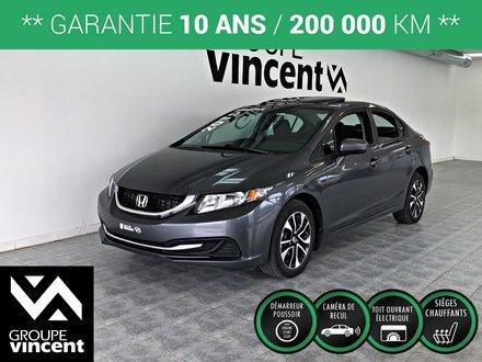 Honda Civic EX **GARANTIE 10 ANS** 2015
