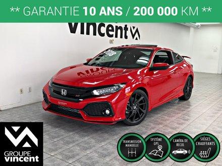 Honda Civic Si COUPÉ HFP **GARANTIE 10 ANS** 2018