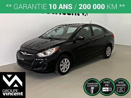 Hyundai Accent L**GARANTIE 10 ANS** 2012