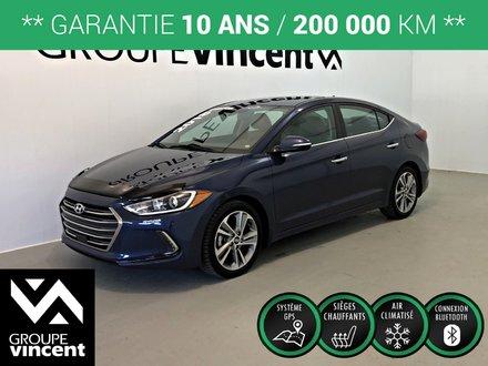 Hyundai Elantra LIMITED CUIR ** GARANTIE 10 ANS ** 2018