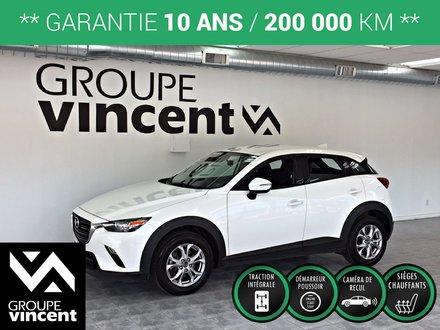 Mazda CX-3 GS AWD ** GARANTIE 10ANS ** 2019