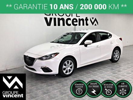 Mazda3 GX AIR CLIMATISÉ **GARANTIE 10ANS** 2015