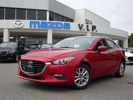 2017  Mazda3 Sedan GS Manual with Moonroof