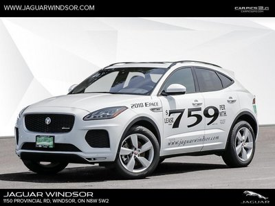 2018 Jaguar E-PACE - Heated Seats - SiriusXM - $412.22 B/W