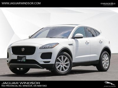 2018 Jaguar E-PACE S  - Heated Seats - SiriusXM - $358 B/W