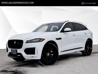 2019 Jaguar F-Pace - Black Package - $495.06 B/W