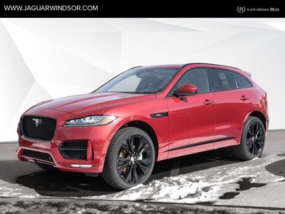 2019 Jaguar F-Pace - Black Package