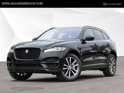 2019 Jaguar F-Pace - Black Package - $469.61 B/W