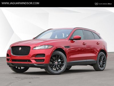 2019 Jaguar F-Pace - Black Package - $458 B/W
