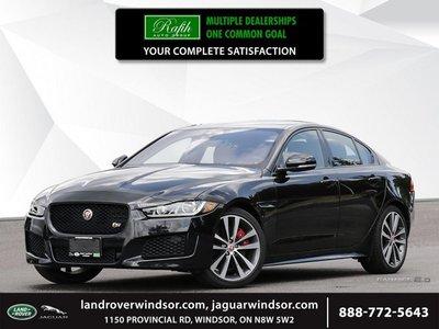 2018 Jaguar XE S AWD  - Black Package - $453.29 B/W
