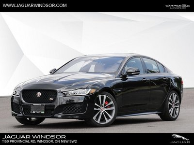 2018 Jaguar XE S AWD  - Black Package - $453.29 B/W