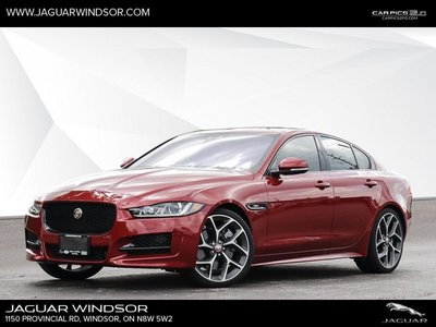2018 Jaguar XE 35t AWD R-Sport  - Black Package - $434.10 B/W