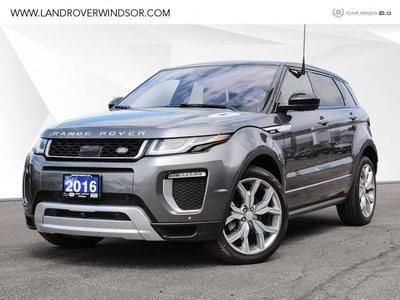 2016 Land Rover Range Rover Evoque Autobiography