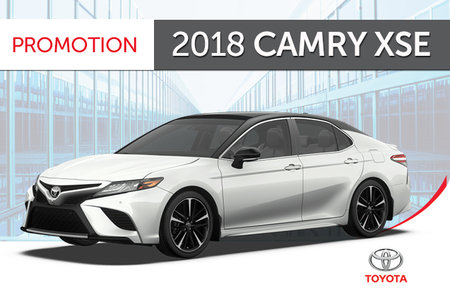 Toyota 2018 Camry XSE V6 Standard Package