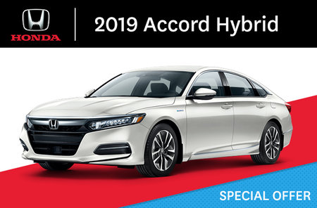 2019 Honda Accord Hybrid E-CVT