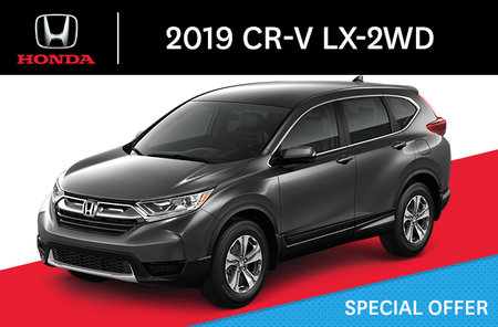 2018 Honda CR-V in Cowansville (near Granby and St-Jean) | Deragon Honda