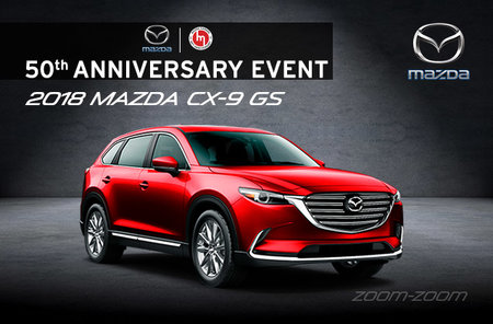 2018 Mazda CX-9 GS - 7-passengers