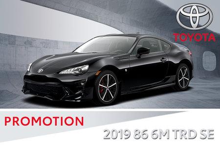 2019 86 6A GT