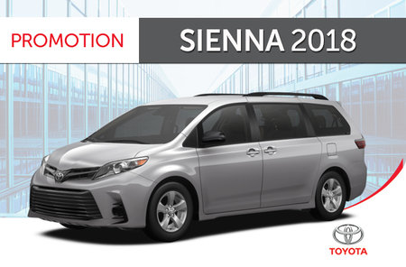 Sienna XLE AWD<br>7-PASS 8A 2018