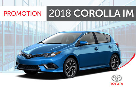 Toyota 2018<br>Corolla iM 6M