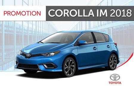 Toyota Corolla<br>iM 6M 2018